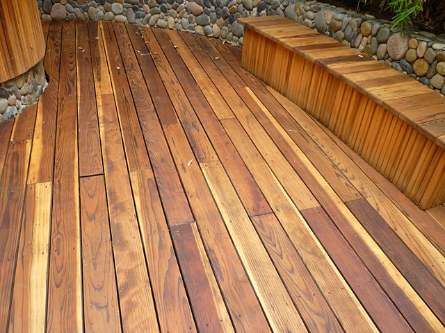 refinishing decks and teak furniture