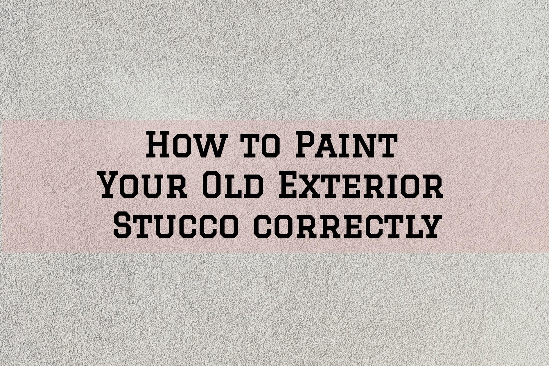 painting stucco walls, stucco walls