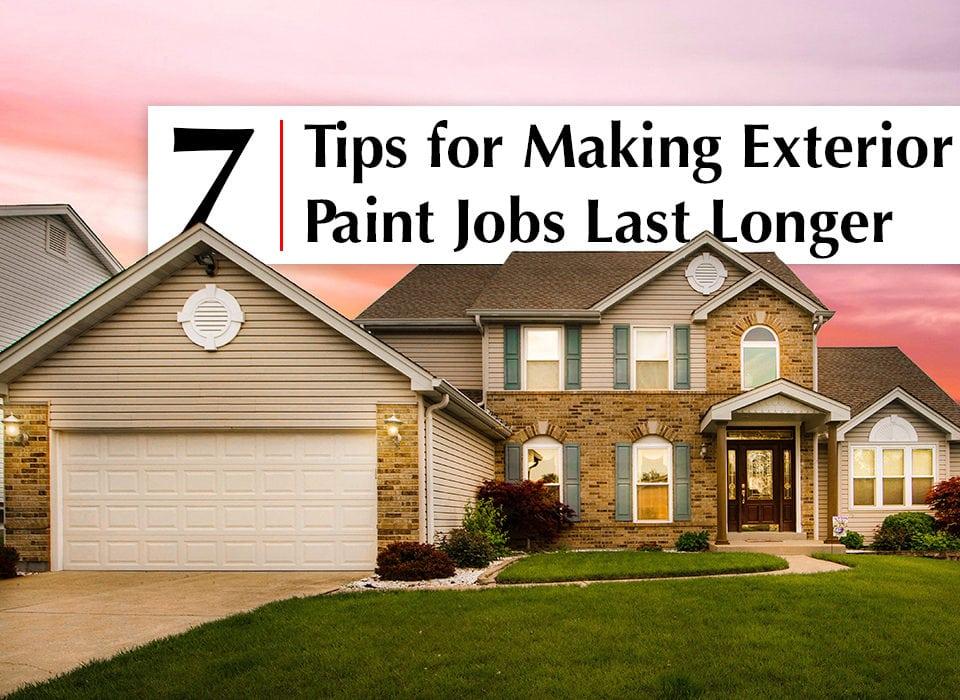 Best Painting Contractors in San Diego, Best Painting Companies in San Diego, Tips to make exterior paint last longer
