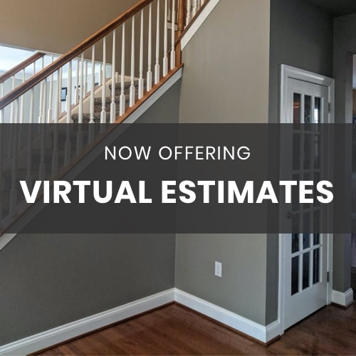 Now Offering Virtual Estimates Supporting Graphic